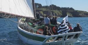 Navigation vieux greements golfe du morbihan